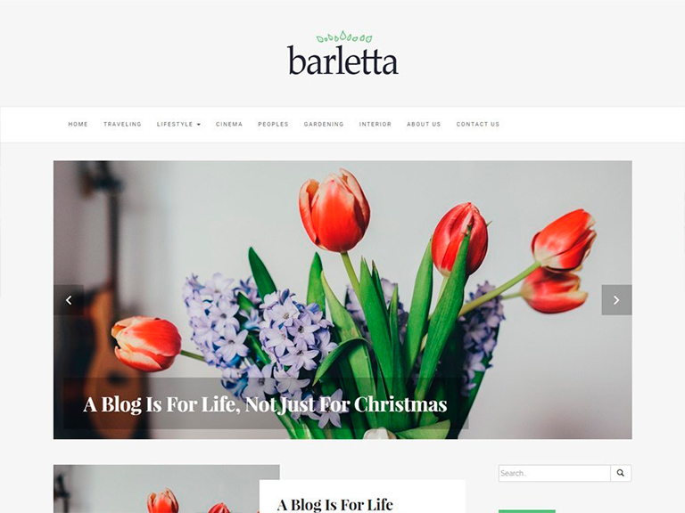 tema wordpress barletta