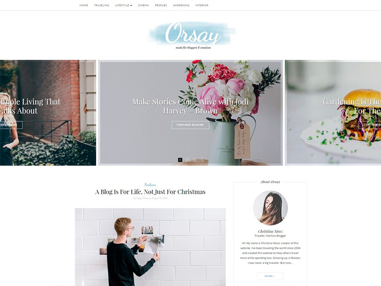 tema orsay wordpress